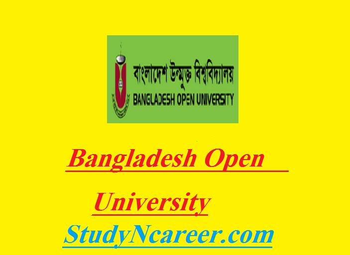 Bangladesh Open University Job Circular-2017
