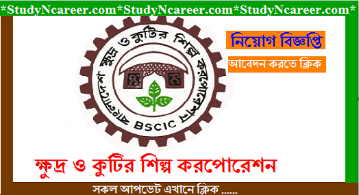 Bangladesh small and cottage industries corporation job circular 2020