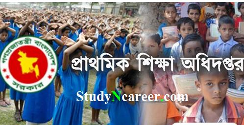 Primary Result 2019 PDF dpe.gov.bd
