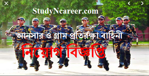 Ansar VDP Job circular pic