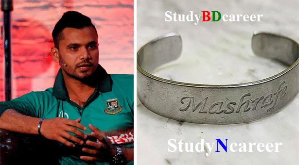 Mashrafe's bracelet sold for TK 42 lakh